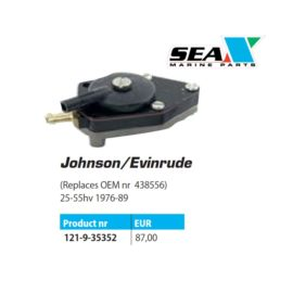 Johnson/Evinrude polttoainepumppu