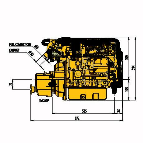 Vetus M-line merimoottorit veneakselisto.com -verkkokaupasta.
