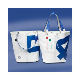 Trend Marine Sea Girl ostoslaukku Valkoinen/Sininen. Trend Marine