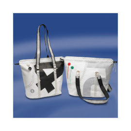 Trend Marine Sea Queen ostoslaukku Valkoinen/Musta