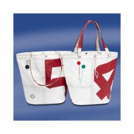 Trend Marine Sea Girl ostoslaukku Valkoinen/Punainen. Trend Marine